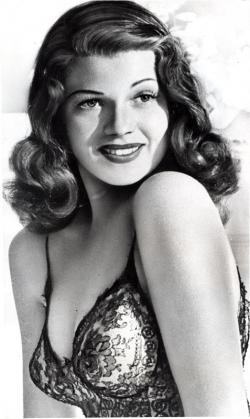Rita Hayworth: sex goddess.