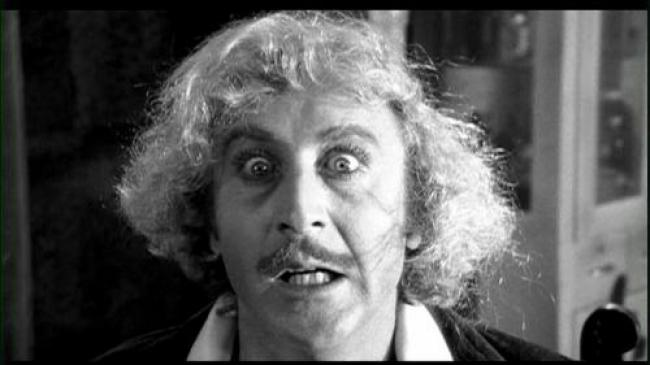 Gene Wilder as Dr. Frankenstein