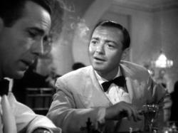 Peter Lorre stealing a scene in Casablanca.