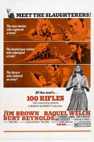 100 Rifles Movie Poster