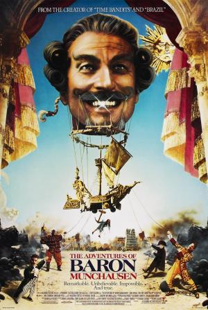 The Adventures of Baron Munchausen Movie Poster