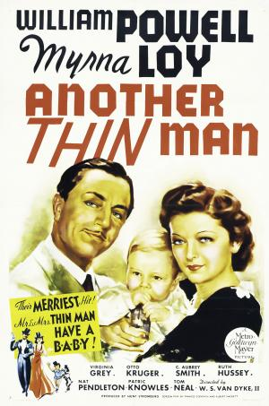 Another Thin Man Movie Poster