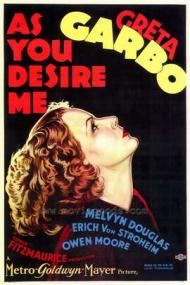As You Desire Me Movie Poster