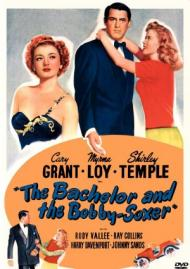 The Bachelor and the Bobby-Soxer Movie Poster
