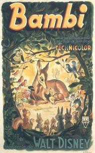 Bambi Movie Poster