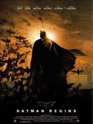 Batman Begins Movie Poster