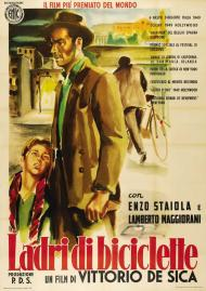 The Bicycle Thief Movie Poster
