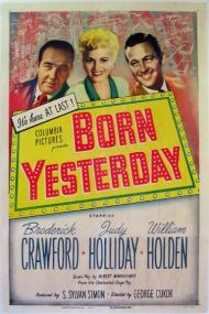 Born Yesterday 1950 Starring Judy Holliday Broderick