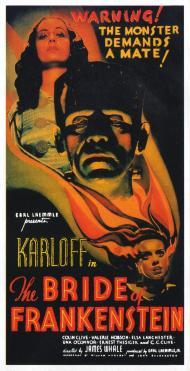 The Bride of Frankenstein Movie Poster
