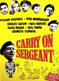 Carry On Sergeant 1958 Starring William Hartnell border=