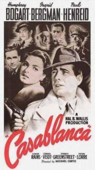 Casablanca Movie Poster