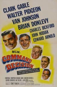 Command Decision Movie Poster