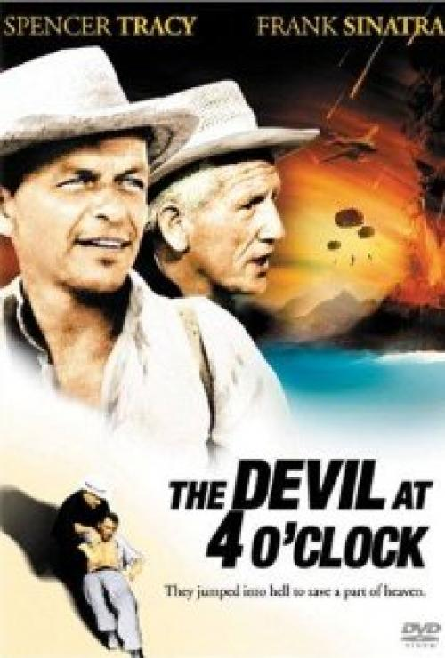 The Devil at 4 O'Clock Movie Poster