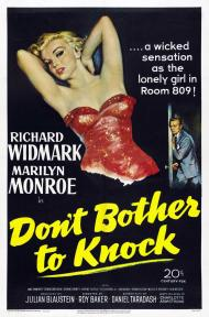 Don't Bother to Knock Movie Poster