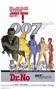 Dr. No Movie Poster