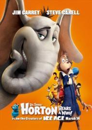 Dr. Seuss' Horton Hears a Who Movie Poster