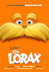Dr. Seuss' The Lorax Movie Poster