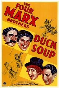 Duck Soup Movie Poster