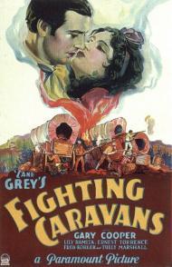 Fighting Caravans Movie Poster