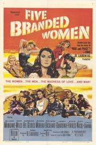 Five Branded Women Movie Poster