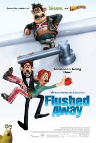 Flushed Away Movie Poster