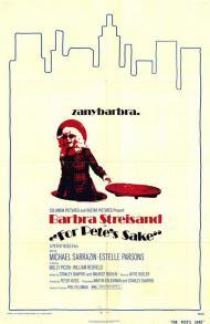 For Pete's Sake Movie Poster