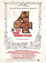 The Four Musketeers Movie Poster