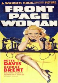 Front Page Woman Movie Poster