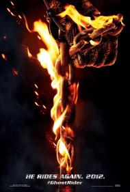 Ghost Rider: Spirit of Vengeance  Movie Poster