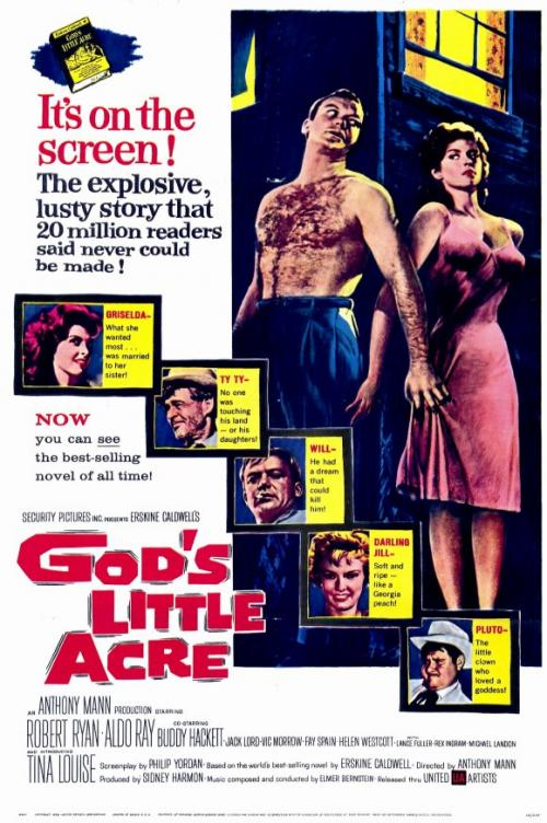 God's Little Acre Movie Poster