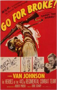 Go for Broke Movie Poster