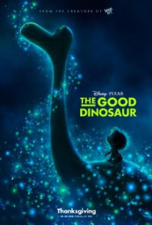 The Good Dinosaur Movie Poster