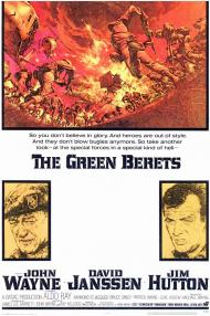 The Green Berets Movie Poster