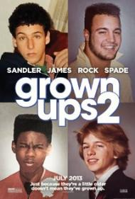 Grown Ups 2 Movie Poster