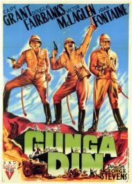 Gunga Din Movie Poster