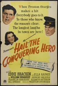 Hail the Conquering Hero Movie Poster