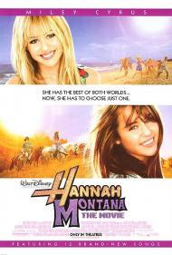 Hannah Montana The Movie Movie Poster