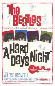 A Hard Day's Night Movie Poster