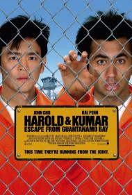 Harold and Kumar Escape From Guantanamo Bay Movie Poster