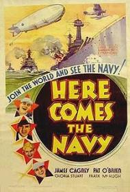 Here Comes the Navy Movie Poster