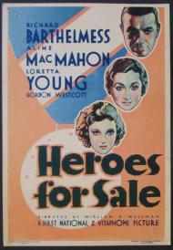 Heroes for Sale Movie Poster