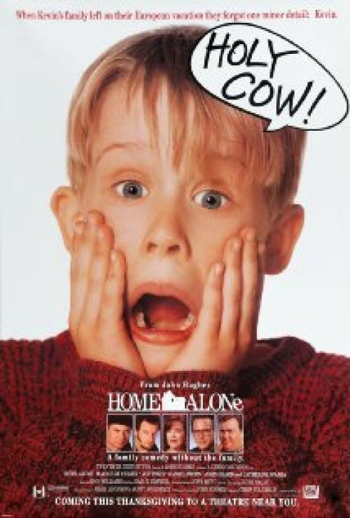 home alone movie poster - Home Alone Christmas Movie