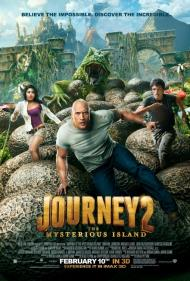 Journey 2: The Mysterious Island Movie Poster