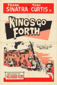 Kings Go Forth Movie Poster