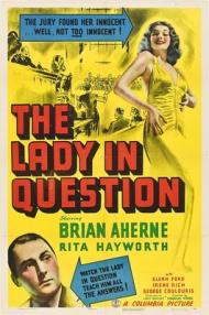 The Lady in Question  Movie Poster