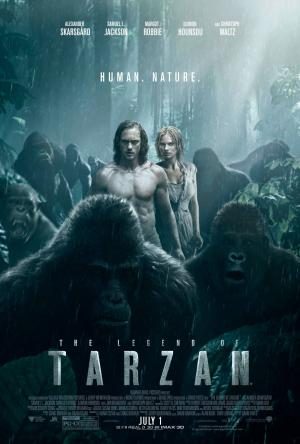 The Legend of Tarzan Movie Poster