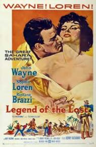 Legend of the Lost Movie Poster