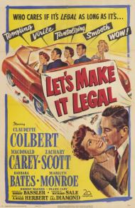 Let's Make It Legal Movie Poster