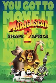 Madagascar: Escape 2 Africa Movie Poster
