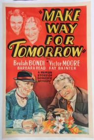 Make Way for Tomorrow Movie Poster